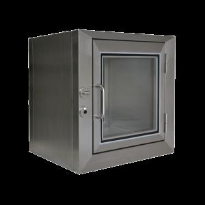 doorgeefsluis-rvs-mechanisch-interlock-opbouw-scharnieren-tussenliggende-deur