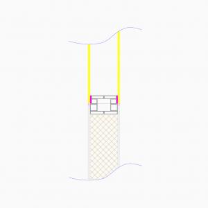 cleanroom-wand-type-dsl-tekening-doorsnede