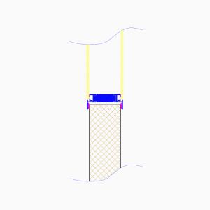 cleanroom-wand-type-dsm-tekening-doorsnede