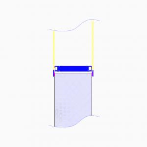 cleanroom-wand-type-us100-tekening-doorsnede